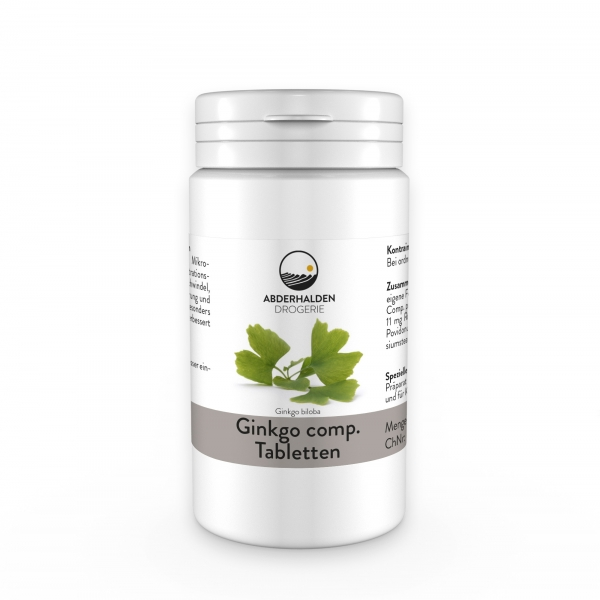 Ginkgo comp. Tabletten