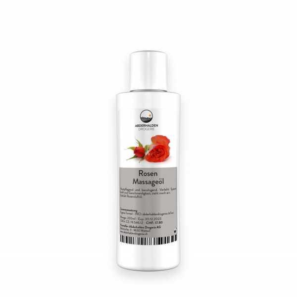 Rosen Massageöl