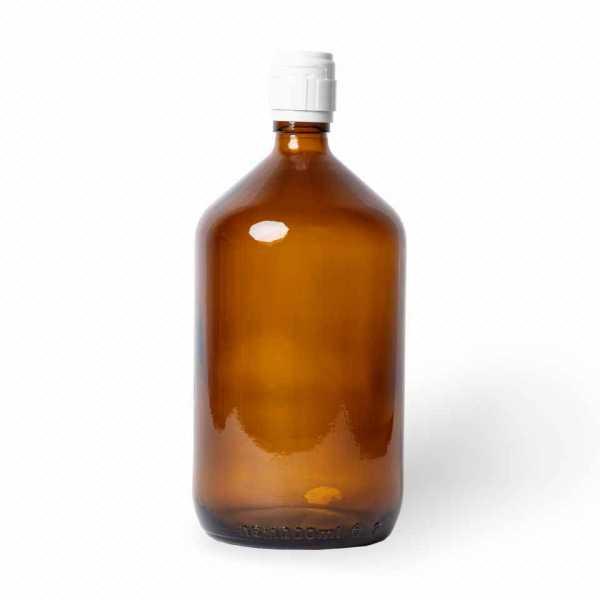 Flasche Glas inkl. Ausgussdeckel