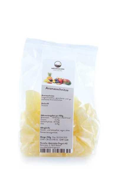 Ananas Schnitze kandiert
