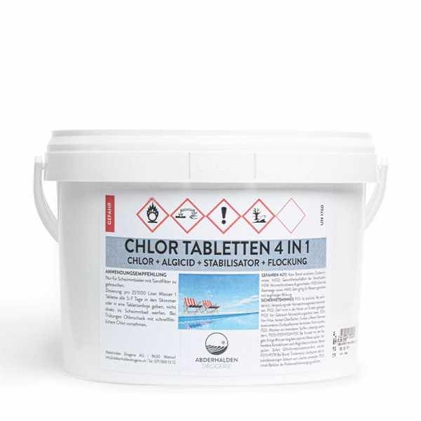 Chlor 4 in 1 Tabletten