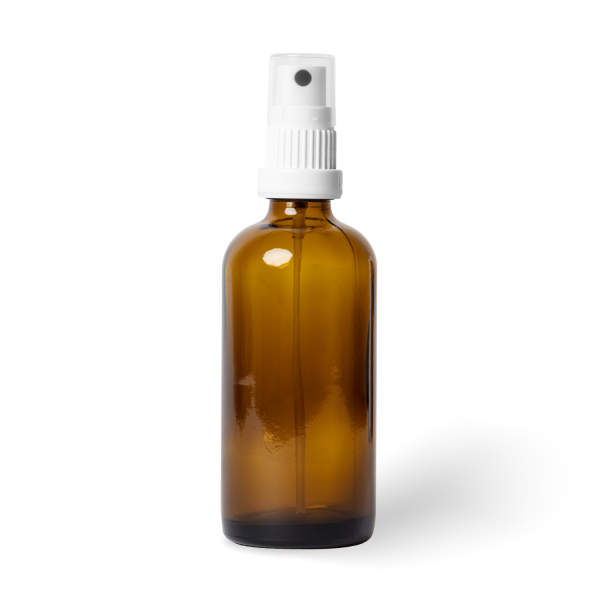 Flasche Glas inkl. Spray